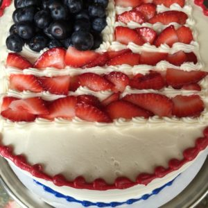 Our July 4th Berry cake is a perfect Summer treat.